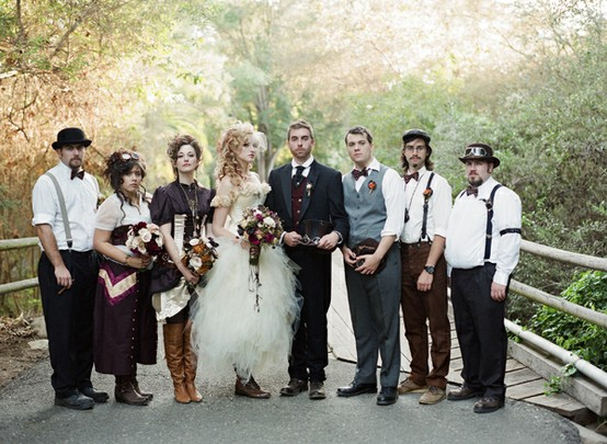 victorian-steampunk-wedding