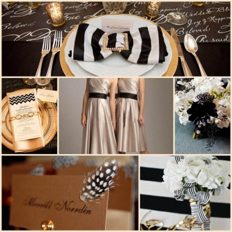 4. Gold_Black_White_Wedding