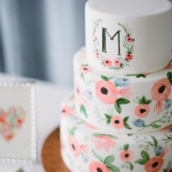 pastel-hand-painted-wedding-cake-idea